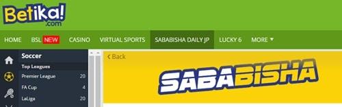 betika sababisha prediction